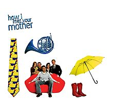 HIMYM stickers Photographic Print