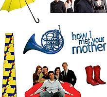 HIMYM stickers by YesImObsessed