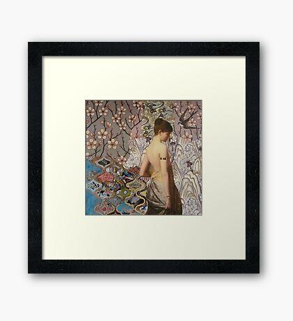 Iona Framed Print