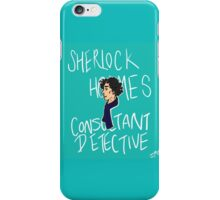 The Consultant Detective iPhone Case/Skin