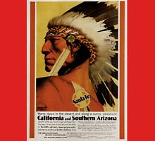 Vintage poster - California and Southern Arizona Unisex T-Shirt
