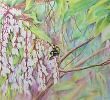 Bumble Bee Garden by Jacqui Cleijne