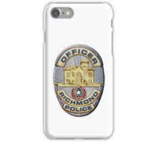 Richmond Police iPhone Case/Skin