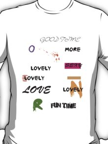 al abut words  T-Shirt
