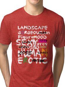 al abut words  Tri-blend T-Shirt