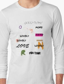 all abut words 3 Long Sleeve T-Shirt