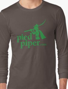 Silicon Valley's Pied Piper Shirt Long Sleeve T-Shirt