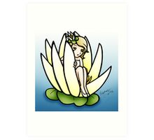 The Smallest Water Lily Art Print