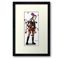 Safety Pins and Hair Dye Framed Print
