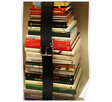 Book Stack Poster