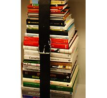 Book Stack Photographic Print