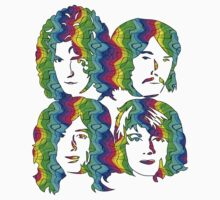 LED ZEPPELIN BAND FACES (SUMMER OF LOVE) by Endlessgrief