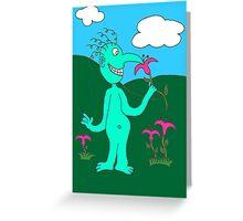 Mr. Smile Greeting Card