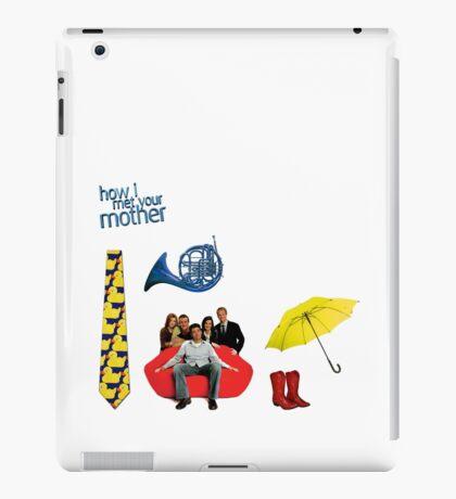 HIMYM stickers iPad Case/Skin