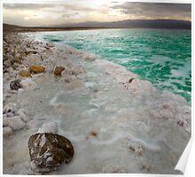 Dead Sea Blue Poster