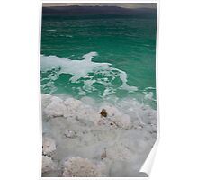 Dead Sea Contrast Tall Poster