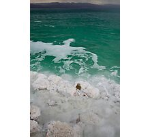 Dead Sea Contrast Tall Photographic Print