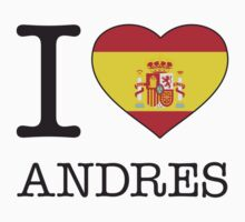 I ♥ ANDRES by eyesblau