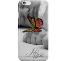 Hope Butterfly iPhone Case/Skin