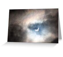 Eclipse and Rainbow Greeting Card