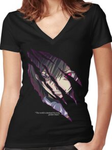 Lelouch Lamperouge Women's Fitted V-Neck T-Shirt