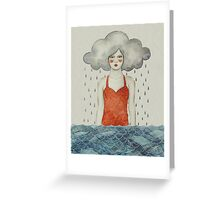 Aglaura Greeting Card