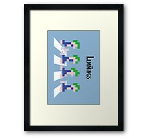 The Lemmings Framed Print