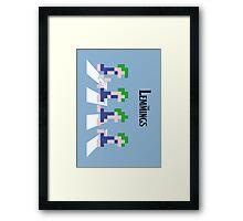 The Lemmings Framed Print