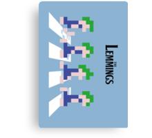 The Lemmings Canvas Print