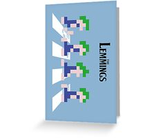 The Lemmings Greeting Card
