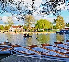 Stratford-upon-Avon by the river by SaraHardman