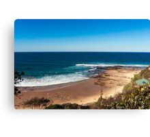 Sand and Ocean Bay Canvas Print