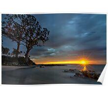 HDR - Two Tree Point, Adventure Bay, Bruny Island, Tasmania, Australia. Poster