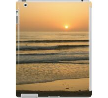 Golden California Sunset - Pacific Beach, San Diego iPad Case/Skin