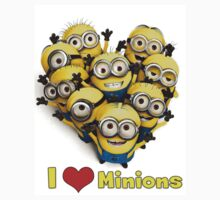 i LOVE MINIONS by stillhere