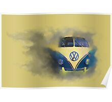 A Camper Van of Cloudy Stuff Emerges Poster