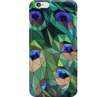 Peacock Feather Abstract iPhone Case/Skin