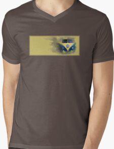 A Camper Van of Cloudy Stuff Emerges Mens V-Neck T-Shirt