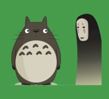 Totoro  & Two Face by xtotemx