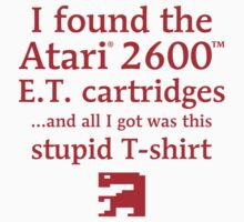 I found the ET cartridges (Red) T-Shirt