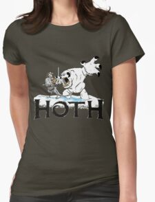 The Frozen Planet of Hoth Womens Fitted T-Shirt