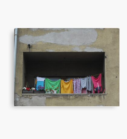 A balcony Canvas Print