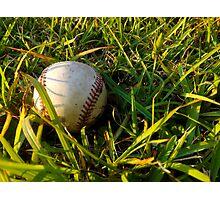 Play Ball  Photographic Print