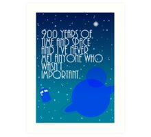 900 Years Of Time & Space Art Print