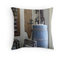 Past Memories Throw Pillow