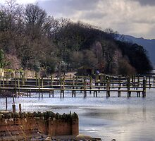 Derwentwater Boat Piers by Tom Gomez