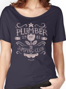 Plumber Jumping Club Women's Relaxed Fit T-Shirt