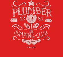 Plumber Jumping Club Unisex T-Shirt