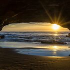 Light beneath rock by Adriano Carrideo