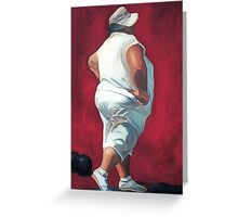 Lawnbowler Greeting Card